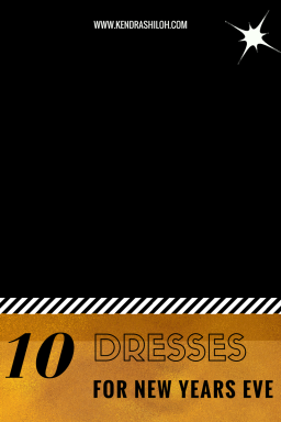 10 PARTY DRESSES FOR NYE