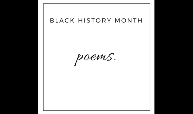 three poems//black history month